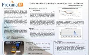 temperature sensing poster