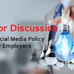 How to do a social media policy for HR image